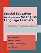 Special Education Considerations for English…