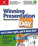 Rhonda Abrams: Winning Presentation in a Day: Get It Done Right, Get It Done Fast