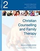 Christian Counselling and Family Therapy:…