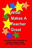 Herbert Zakary Zeitlin: What Makes a Teacher Great