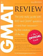 The Official Guide for GMAT Review by…