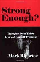 Strong Enough? : Thoughts from Thirty Years…