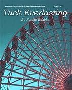 Tuck Everlasting Literature Guide (Common…