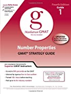 Number Properties GMAT Strategy Guide, 4th…