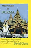 David Olson: Memories of Burma