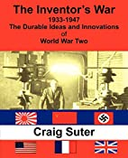 The Inventor's War by Craig Suter