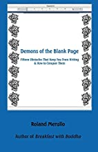 Demons of the Blank Page by Roland Merullo