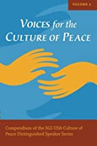 Voices for the Culture of Peace Vol. 2:…