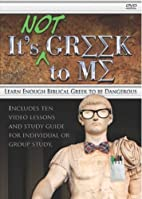 It's Not Greek To Me: Learn Enough…