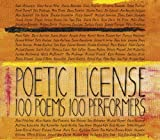 William Shakespeare: Poetic License: 100 Poems - 100 Performers