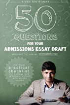 50 Questions for Your Admissions Essay…