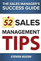 52 Sales Management Tips: The Sales…