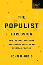 The Populist Explosion: How the Great…