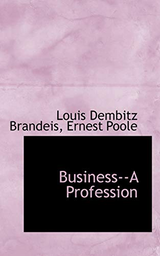 business-a-profession