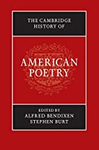 The Cambridge History of American Poetry by…