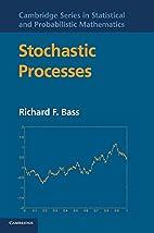 Stochastic Processes (Cambridge Series in…