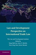 Law and Development Perspective on…