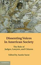 Dissenting Voices in American Society: The…