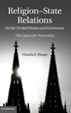 Religion-State Relations in the United…
