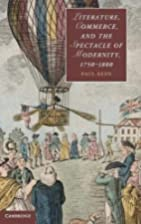 Literature, Commerce, and the Spectacle of…