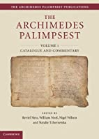The Archimedes Palimpsest 2 Volume Set (The…
