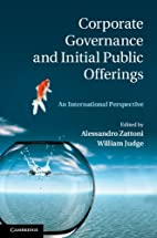 Corporate Governance and Initial Public…