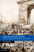 Paris and the Spirit of 1919: Consumer…