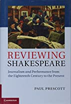 Reviewing Shakespeare: Journalism and…