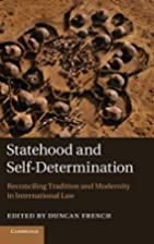 Statehood and Self-Determination:…
