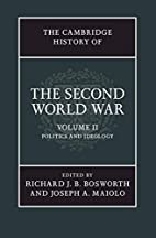 The Cambridge History of the Second World…