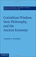 Corinthian Wisdom, Stoic Philosophy, and the…