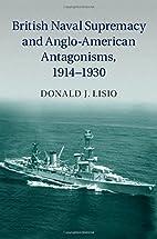 British Naval Supremacy and Anglo-American…