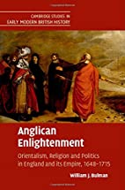 Anglican Enlightenment: Orientalism,…