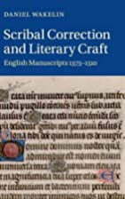 Scribal Correction and Literary Craft:…