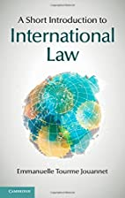 A Short Introduction to International Law by…
