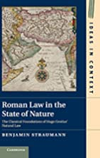 Roman law in the state of nature : the…