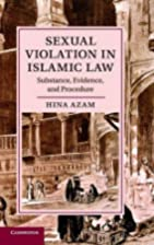 Sexual Violation in Islamic Law: Substance,…