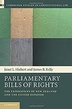 Parliamentary Bills of Rights (Cambridge…