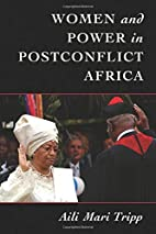 Women and power in postconflict Africa by…