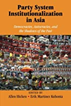 Party System Institutionalization in Asia:…