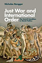 Just War and International Order: The…