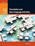 Translation and Own-language Activities by…