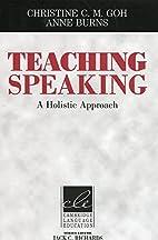 Teaching Speaking: A Holistic Approach…