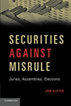 Securities Against Misrule: Juries,…