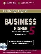 Cambridge English Business 5 Higher…