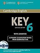 Cambridge English Key 6 Self-study Pack…