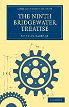 The Ninth Bridgewater Treatise: A Fragment…