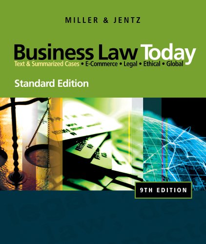 bundle-business-law-today-standard-edition-9th-study-guide