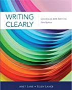 Writing Clearly: Grammar for Editing by…