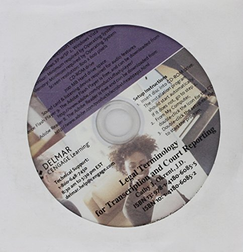 student-cd-for-okrents-legal-terminology-for-transcription-and-court-reporting